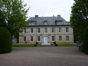 Die Südfassade von Schloss Neuvic © D'Ussel