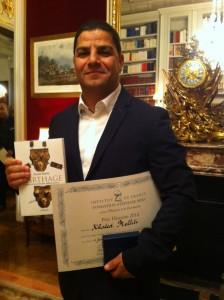 Le lauréat Khaled Melliti
