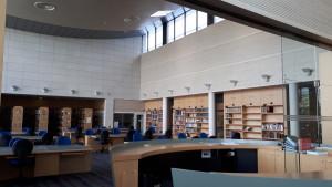Salle de travail des Archives dép. des Yvelines