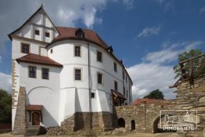 """Forteresse en Saxe à vendre © Agence """"Historische Immobilien/Schloss-Burg Verkauf"""""""