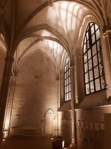 Crypte du Collège des Bernardins © BdC