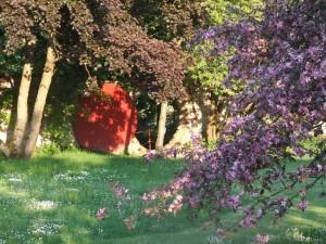 Dennenlohe privatgarten mit mondtor