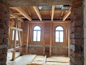 Dachboden im Umbau für Gästezimmer © B. de Cosnac