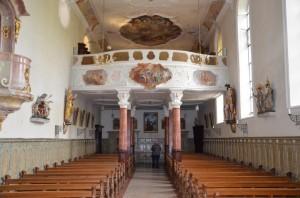 Habsthal_Kirche_Langhaus nach West