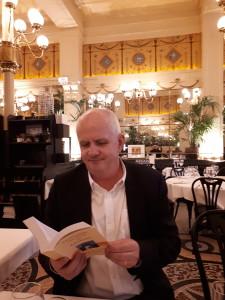 Olivier de Lagarde, co-auteur du Dictionnaire Amoureux du patrimoine au Grand Colbert, Paris © B. de Cosnac