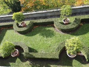 Terrassengarten, Neues Schloss © CC