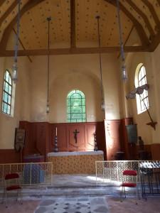 La chapelle nouvellement restaurée©B. de Cosnac